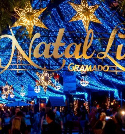 A magia do natal em Gramado